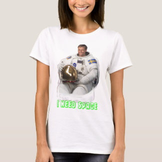 I NEED SPACE - Tröja - Tryck fram Tシャツ