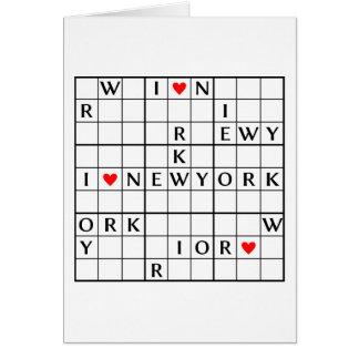 I♥NEWYORK カード