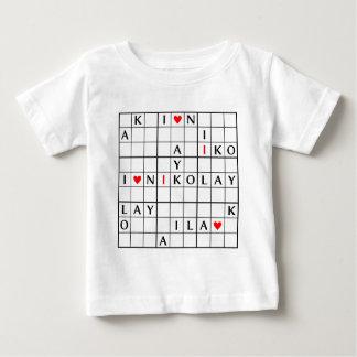 I♥NIKOLAY ベビーTシャツ