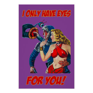 I Only Have Eyes For Your - Pulp Fiction Poster ポスター