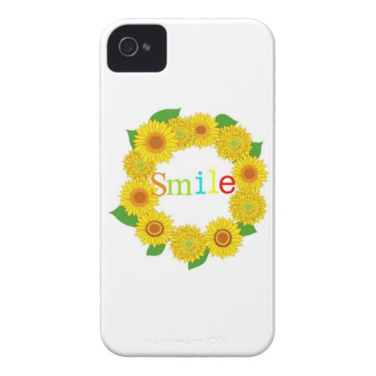 i Phone4/4S smile case Case-Mate iPhone 4 ケース