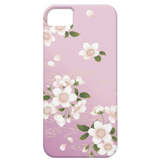 i phone cover sakura iPhone SE/5/5s ケース