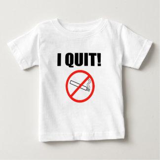 I QUIT.png ベビーTシャツ
