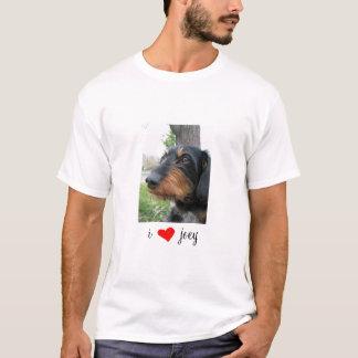 I [REDheartの] joey Tシャツ