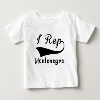 I Repモンテネグロ ベビーTシャツ