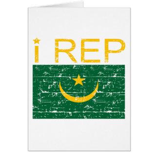 I repモーリタニア カード