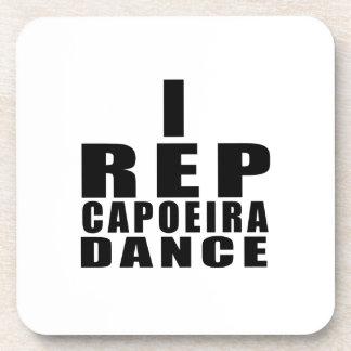 I REP CAPOEIRAのダンスのデザイン コースター