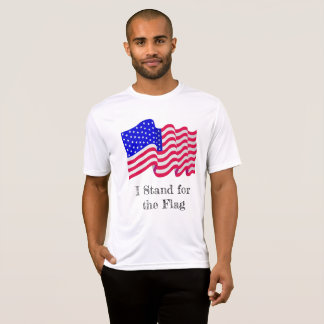 I stand for the flag shirt tシャツ
