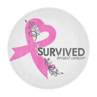 I Surivedの乳癌 カッティングボード