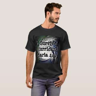 I Survived Hurricane Maria 2017 Shirt Tシャツ