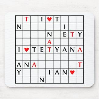 I♥TETYANA マウスパッド