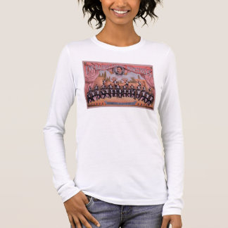 「I.W. Bairn Famous吟遊詩人のための広告 長袖Tシャツ