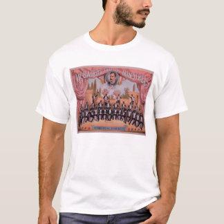 「I.W. Bairn Famous吟遊詩人のための広告 Tシャツ