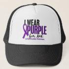I Wear Purple For ME 10 Fibromyalgia キャップ