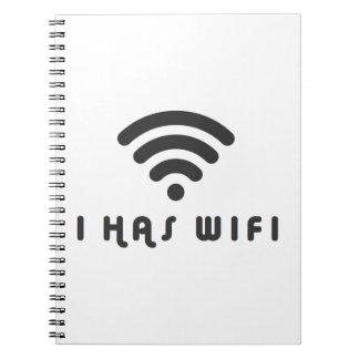 I WIFIのインターネットを持っています ノートブック