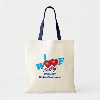 I Woofのカワウソ猟犬 トートバッグ