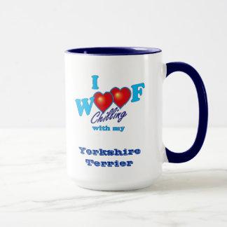 I Woofのヨークシャテリア マグカップ