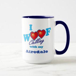 I WoofのAiredaleテリア マグカップ
