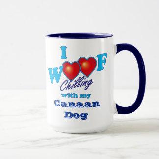 I WoofのCanaan犬 マグカップ