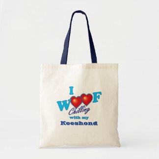 I WoofのKeeshond トートバッグ