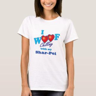 I Woof Shar-Pei Tシャツ