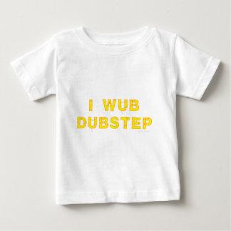 I Wub Dubstep (stiches) ベビーTシャツ