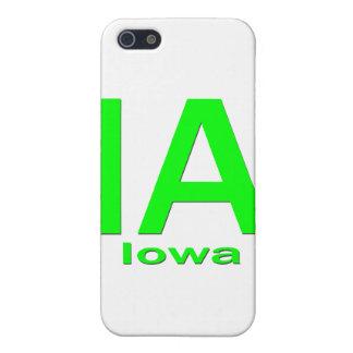 IAアイオワの明白な緑 iPhone 5 カバー