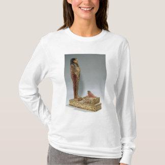 Iahmes (色彩の鮮やかな木)のOsirisの小像 Tシャツ