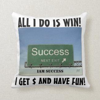 IAMの成功の断言の枕 クッション
