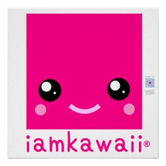 """iamkawaii® 20"""" x 20""""ポスター紙(半光沢) Yay! ポスター"""