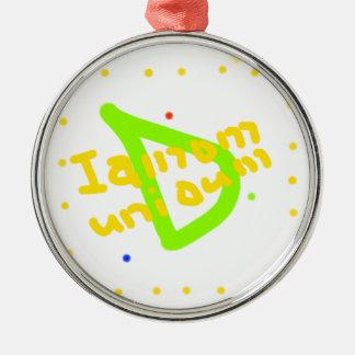 Iamomuniaum_ornament メタルオーナメント
