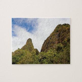 Iaoの谷、マウイ、ハワイ ジグソーパズル