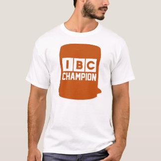 IBCのチャンピオン(白い) Tシャツ
