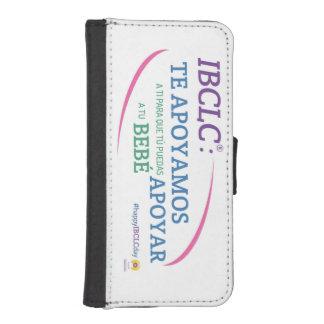 IBCLC®日のiPhone 5の財布の電話箱(スペイン語) iPhoneSE/5/5sウォレットケース