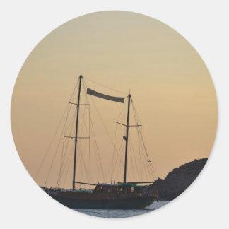 Ibizaの薄暗がり ラウンドシール