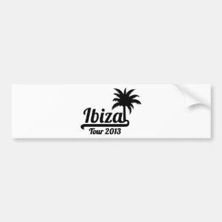 Ibiza旅行2013年 バンパーステッカー