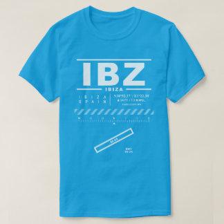 Ibiza空港IBZ Tシャツ