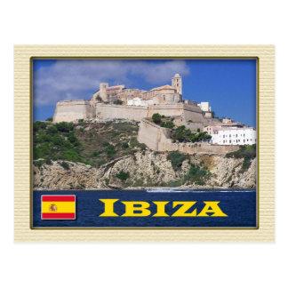 Ibiza、バレアレス諸島、スペインの古い町 ポストカード
