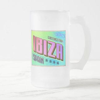 IBIZA フロストグラスビールジョッキ
