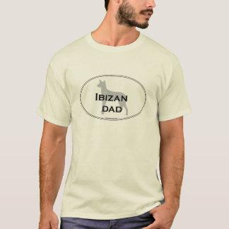 Ibizanのパパ Tシャツ