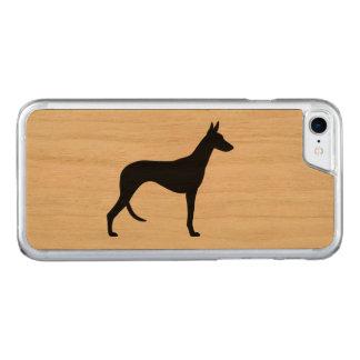 Ibizan猟犬のシルエット Carved iPhone 8/7 ケース