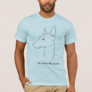 Ibizan猟犬のLineartのティー Tシャツ