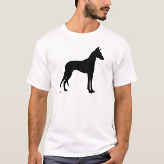 Ibizan猟犬(黒) Tシャツ