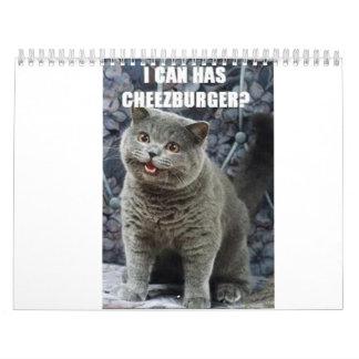 icanhascheezburgerのカレンダー カレンダー