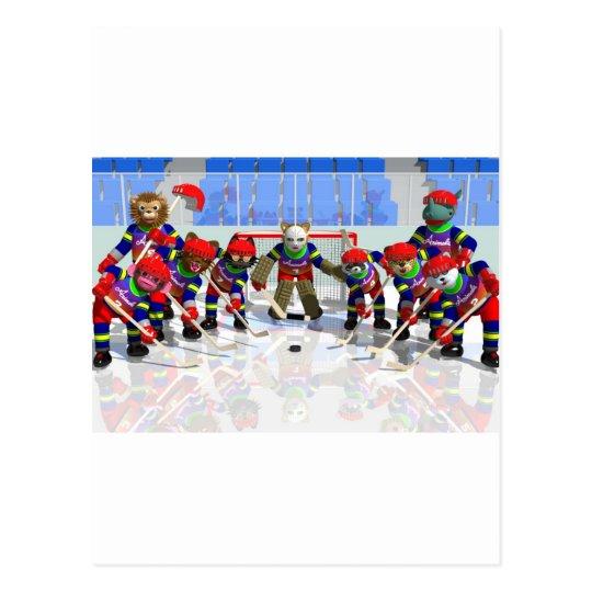 Ice hockey ポストカード