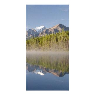 Icefieldsのパークウェイアルバータカナダのherbert湖 カード