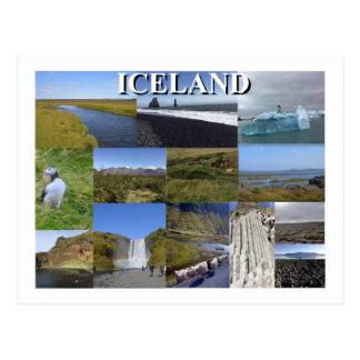 Iceland Summer Landscapes ポストカード