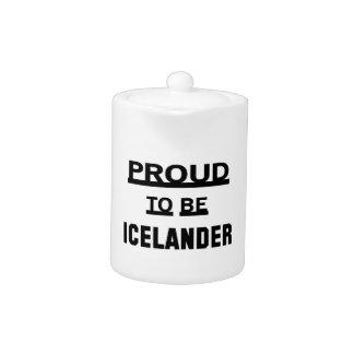 Icelanderあること誇りを持った