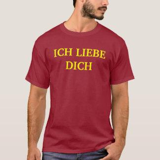 ICH LIEBE DICH Tシャツ