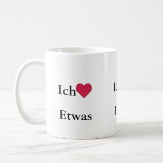 Ich Liebe (Etwas) コーヒーマグカップ